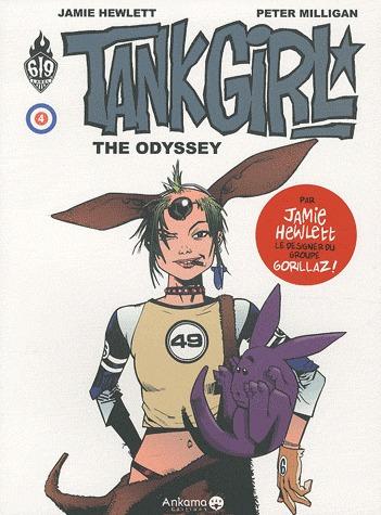 Tank Girl # 4 TPB Hardcover (cartonnée) (2010)
