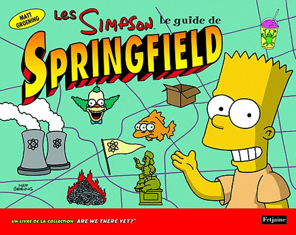 Les Simpson - Le guide de Springfield édition simple