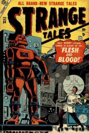 Strange Tales # 34