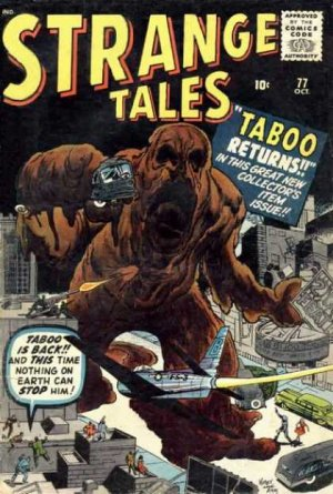 Strange Tales # 77