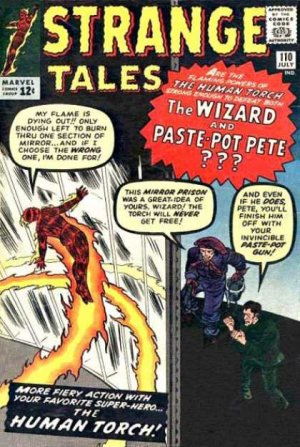 Strange Tales # 110 Issues V1 (1951 - 1968)