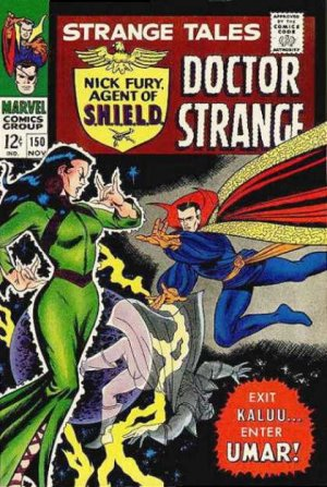 Strange Tales # 150 Issues V1 (1951 - 1968)