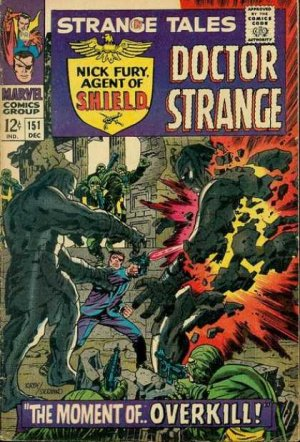 Strange Tales # 151 Issues V1 (1951 - 1968)
