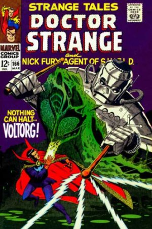 Strange Tales # 166 Issues V1 (1951 - 1968)