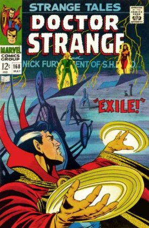 Strange Tales # 168 Issues V1 (1951 - 1968)