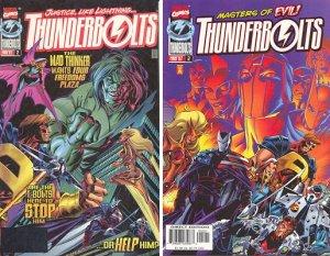 Thunderbolts # 2 Issues V1 (1997 - 2003)