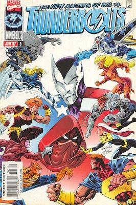 Thunderbolts # 3 Issues V1 (1997 - 2003)