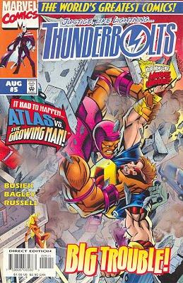 Thunderbolts # 5 Issues V1 (1997 - 2003)