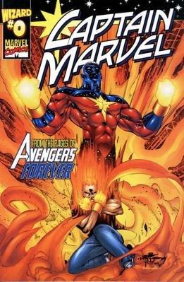 Captain Marvel édition Issue (2000) - Supplément Magazine - Wizard