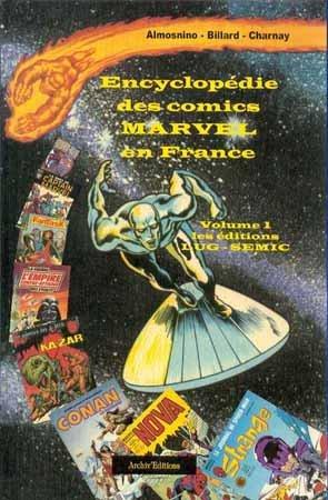 Encyclopédie des comics Marvel en France édition Simple