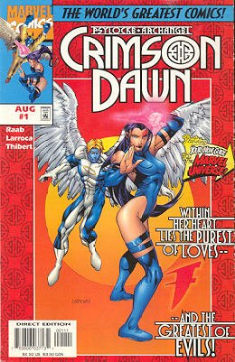Psylocke and Archangel - Crimson Dawn # 1 Issues