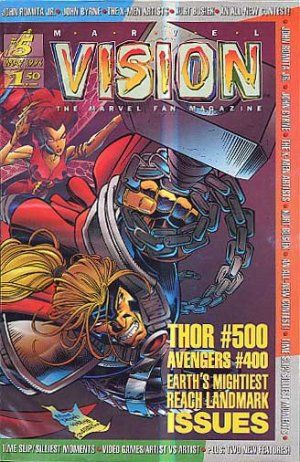 Marvel Vision édition Kiosque