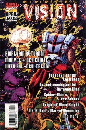 Marvel Vision # 16 Kiosque
