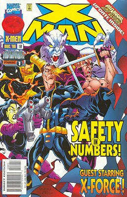 X-Man # 18 Issues (1995 - 2001)