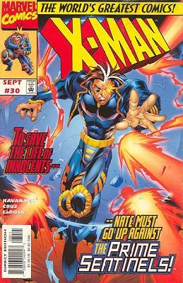 X-Man # 30