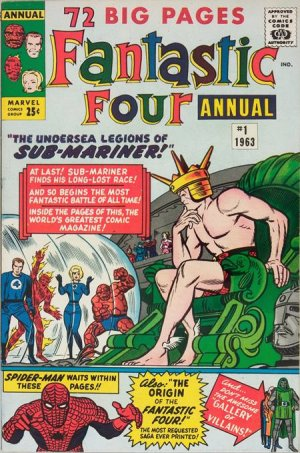 Fantastic Four # 1 Issues V1 - Annuals (1963 - 2012)