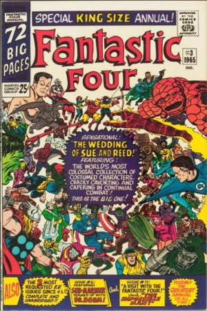 Fantastic Four # 3 Issues V1 - Annuals (1963 - 2012)