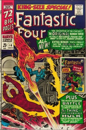 Fantastic Four # 4 Issues V1 - Annuals (1963 - 2012)