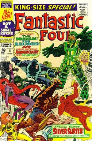 Fantastic Four # 5 Issues V1 - Annuals (1963 - 2012)