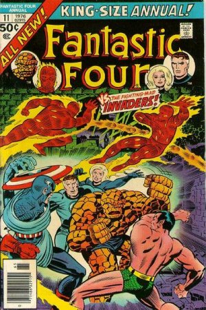 Fantastic Four # 11 Issues V1 - Annuals (1963 - 2012)