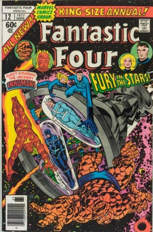 Fantastic Four 12 - 1977 : The End of the Inhumans... and the Fantastic Four