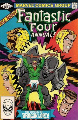 Fantastic Four 16 - 1981 : The Coming of... Dragon Lord!