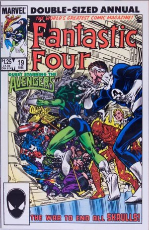 Fantastic Four 19 - 1985 : Summons From The Stars