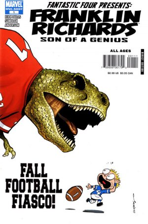 Franklin Richards - Fall Football Fiasco! édition Issues