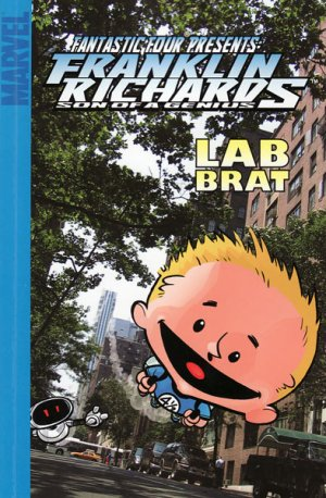 Franklin Richards - Lab Brat édition TPB Souple