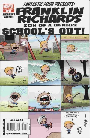 Franklin Richards - School's Out! édition Issues