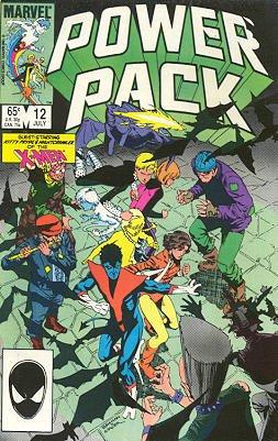 Power Pack # 12 Issues V1 (1984 - 1991)