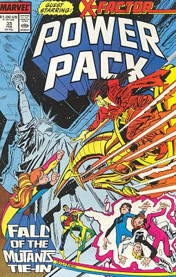 Power Pack # 35 Issues V1 (1984 - 1991)