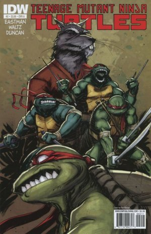 Les Tortues Ninja # 2 Issues V5 (2011 - ongoing)