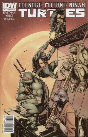 Les Tortues Ninja # 3 Issues V5 (2011 - ongoing)