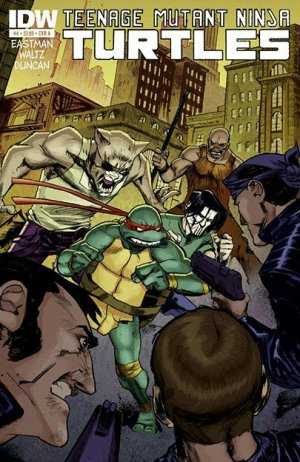 Les Tortues Ninja # 4 Issues V5 (2011 - ongoing)