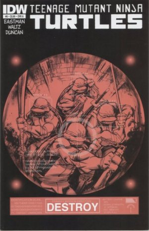Les Tortues Ninja # 6 Issues V5 (2011 - ongoing)
