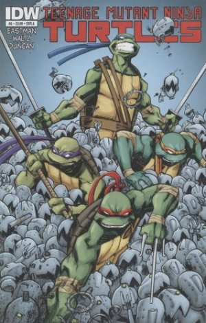 Les Tortues Ninja # 8 Issues V5 (2011 - ongoing)
