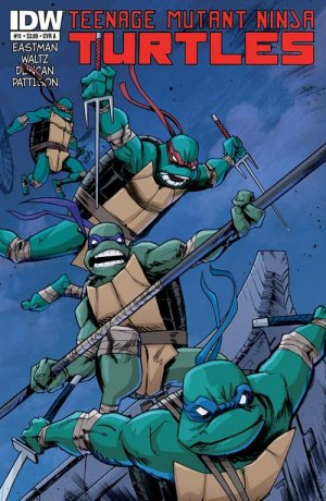 Les Tortues Ninja # 11 Issues V5 (2011 - ongoing)