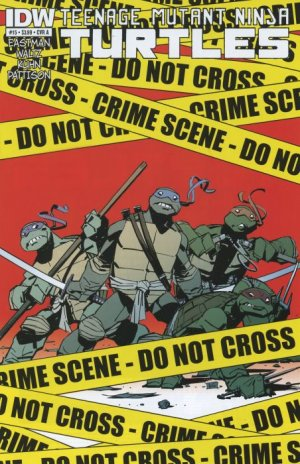 Les Tortues Ninja # 15 Issues V5 (2011 - ongoing)