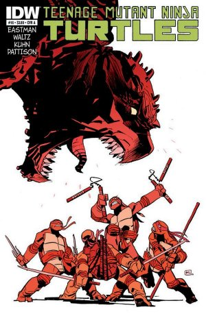 Les Tortues Ninja # 16 Issues V5 (2011 - ongoing)