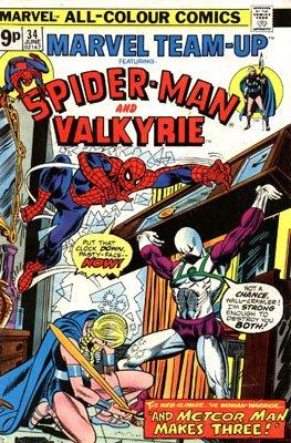 Marvel Team-Up # 34 Issues V1 (1972 - 1985)