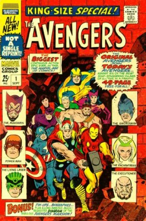 Avengers édition Issues V1 - Annuals (1967 - 1994)