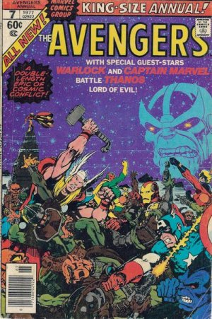Avengers # 7 Issues V1 - Annuals (1967 - 1994)