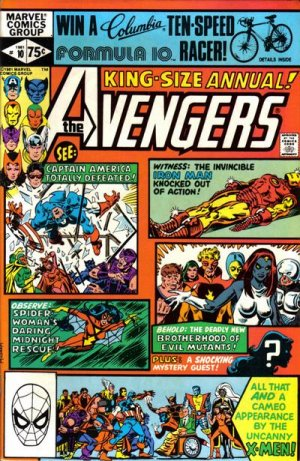 Avengers # 10 Issues V1 - Annuals (1967 - 1994)