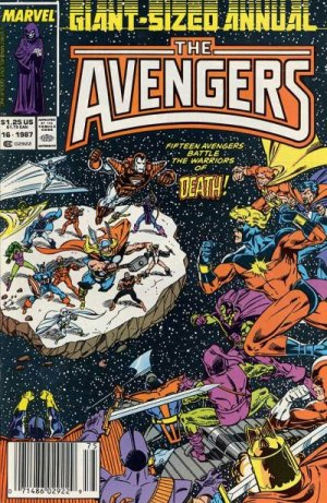 Avengers # 16 Issues V1 - Annuals (1967 - 1994)