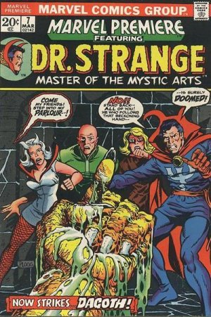 Marvel Premiere # 7 Issues (1972 - 1981)