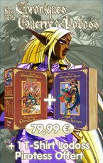 Chroniques de la Guerre de Lodoss - La Légende du Chevalier Héroïque édition COLLECTOR VOLUME 1-2