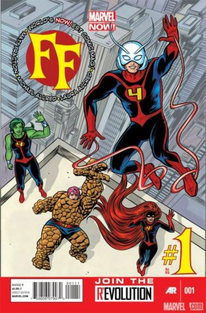 FF # 1 Issues V2 (2012-2014)