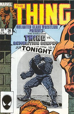 The Thing édition Issues V1 (1983 - 1986)