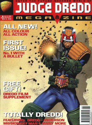 Judge Dredd - The Megazine édition Magazine V3 (1995 - 2001)